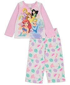 Disney Princess Toddler Girl 2 Piece Pajama Set