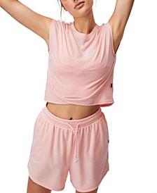 Women's Lifestyle Cross Hem T-Shirt