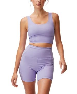 Cotton On Shorts WOMEN'S RIB POCKET BIKE SHORTS