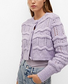 Women's Chunky Knit Cardigan