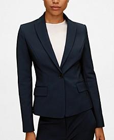 Women's Structured Suit Blazer