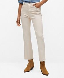 Women's Crop Flared Jeans