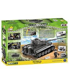 Historical Collection World War II PzKpfw VI Tiger Ausf. E - 800 Piece Construction Blocks Building Kit