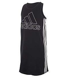 Big Girls Sleeveless Stripe Tank Dress