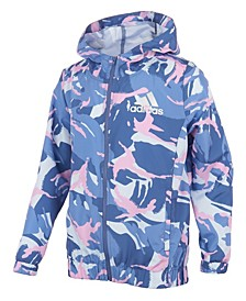 Big Girls Print Wind Jacket