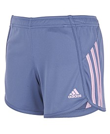 Big Girls Stripe Mesh Shorts