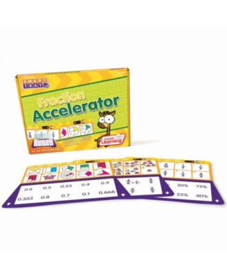 Junior Learning Fraction Accelerator Educational Learning Cards