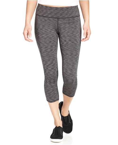 Ideology Rapidry Cropped Space-Dyed Leggings, Created for Macy's
