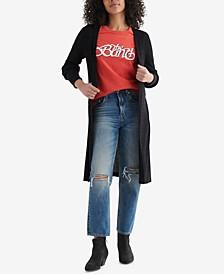 Women's Cloud Jersey Long-Line Open-Front Cardigan