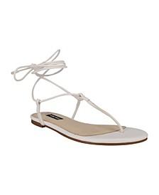Women's Tella T-Strap Tie-Up Sandals