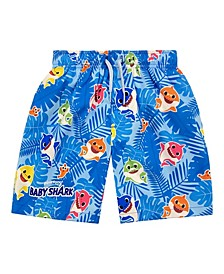 Toddler Boys Baby Shark Swim Trunk