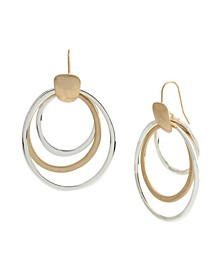 Orbital Drop Earrings