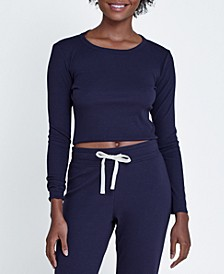 Women's Daydream Cropped Long Sleeve Top