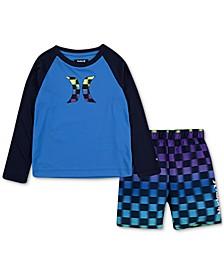 Baby Boys 2-Pc. Crystal Cove Shirt and Shorts Set