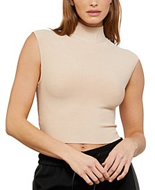 Mock-Neck Top