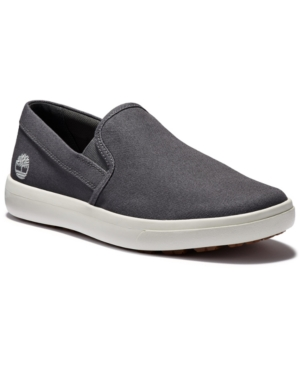 Timberland Canvases MEN'S ASHWOOD PARK SLIP-ON SNEAKERS MEN'S SHOES