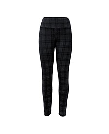 INC Bias Plaid Ponté-Knit Leggings, Created for Macy's