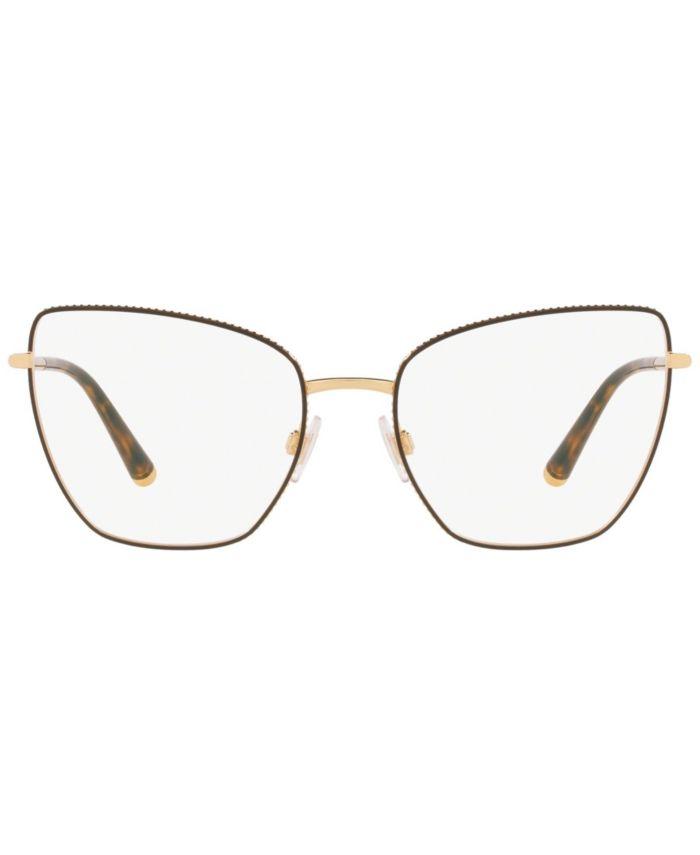 Dolce & Gabbana DG1314 Unisex Butterfly Eyeglasses & Reviews - Home - Macy's
