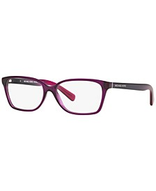 MK4039 Women's Rectangle Eyeglasses