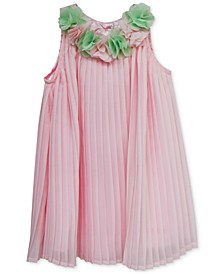 Baby Girls Pleated Flower Dress