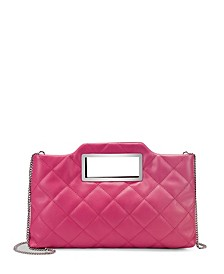 INC Juditth Quilted Handle Clutch, Created for Macy's