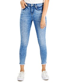 Petite Skinny Faded Ankle Jeans, Created for Macy's