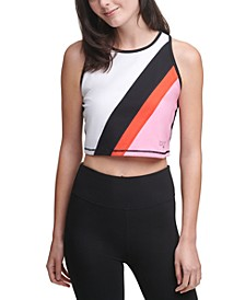 Colorblocked Crop Top