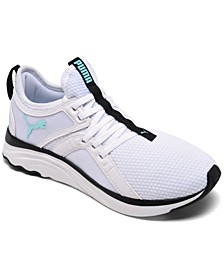Women's Softride X Sophia Webster Lace Up Casual Training Sneakers from Finish Line