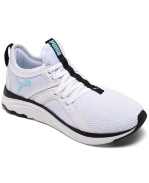 Puma WOMEN'S SOFTRIDE X SOPHIA WEBSTER LACE-UP CASUAL TRAINING SNEAKERS FROM FINISH LINE