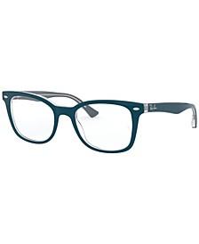 RX5285 Women's Square Eyeglasses