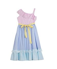 Big Girls Seersucker Dress