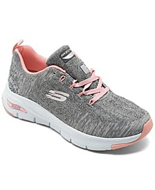 Women's Arch Fit - Comfy Wave Arch Support Walking Sneakers from Finish Line
