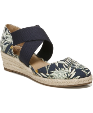 Lifestride LIFESTRIDE KEATON SLIP-ON WEDGE ESPADRILLES WOMEN'S SHOES