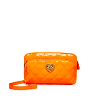 Patent Quilted Brights Crossbody