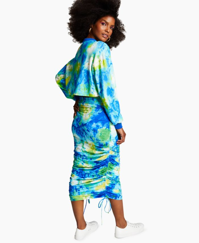 INC International Concepts Misa Hylton for INC Tie-Dyed Sweatshirt, Created for Macy's & Reviews - Tops - Women - Macy's