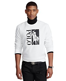Men's Big Pony Logo Double-Knit Sweatshirt