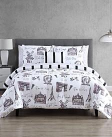 Paris Palcita 12-Pc. Reversible Comforter Sets