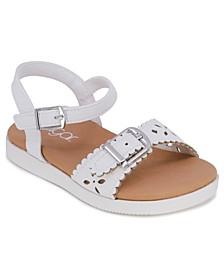 Toddler Girls Cutouts Sandals