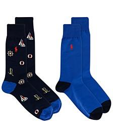 Men's Nautical Socks 2-Pack