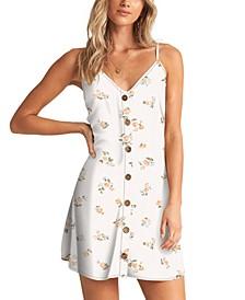 Juniors' Sweet For Ya Mini Slip Dress