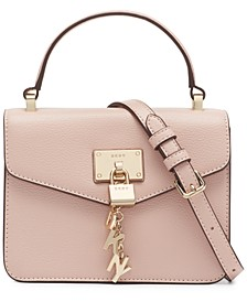Elissa Small Top Handle Leather Bag