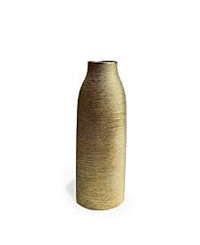 Gold Floor Vase