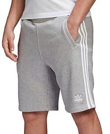 """adidas Men's Originals 3-Stripes 10"""" Shorts"""