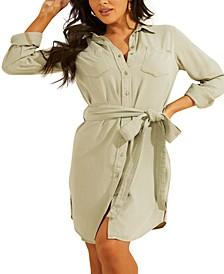 Shonda Belted Shirtdress