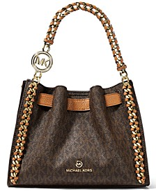 Mina Small Signature Chain Crossbody