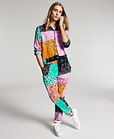 Men's Bandana Patchwork Shirt & Pants, Created for Macy's