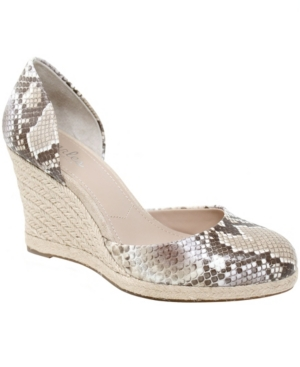 Charles By Charles David Wedges WOMEN'S SANTO WEDGE ESPADRILLE SANDALS WOMEN'S SHOES
