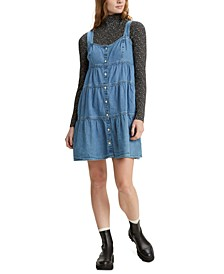 Joni Cotton Tiered Denim Dress