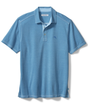 Tommy Bahama Polos MEN'S PARADISO COVE STRIPE JACQUARD POLO SHIRT