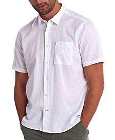 Men's Solid Textured Shirt
